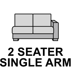 2 Seater – Single Arm
