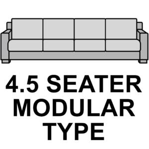 4.5 Seater (modular type sofa)