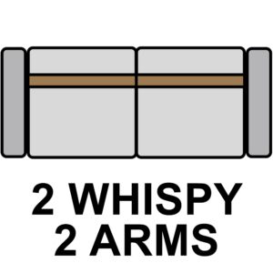 Double Whimsy with Dual Armrest