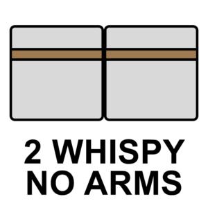 Double Whispy without Armrest