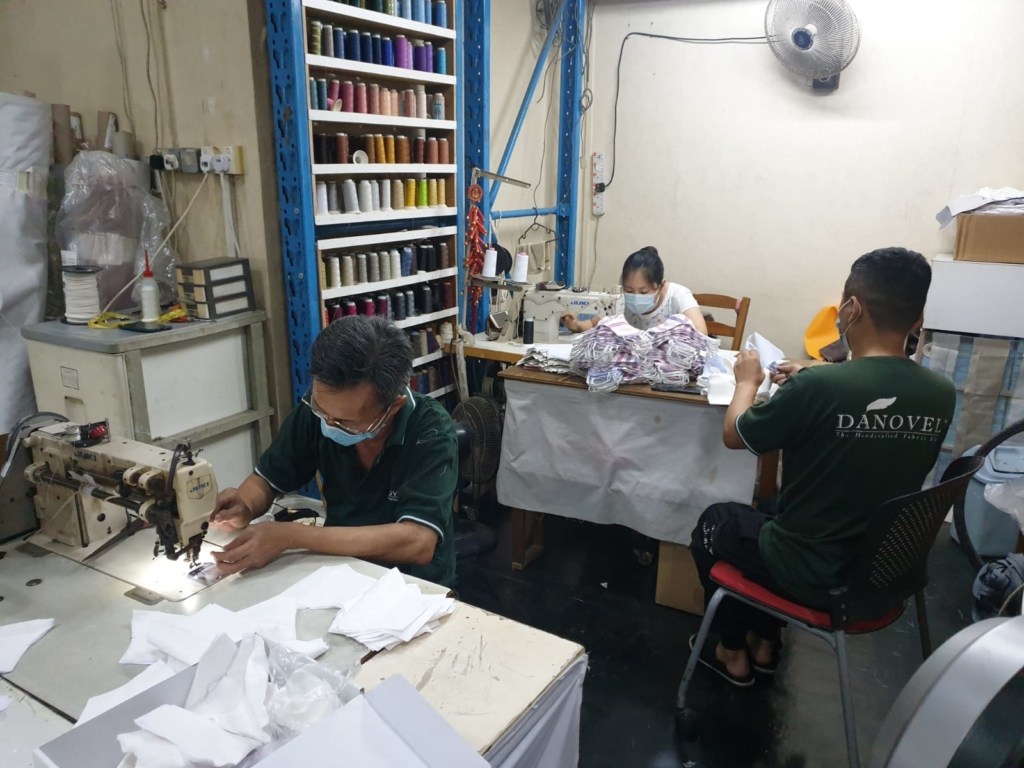 Danovel Furniture Company Making Mask
