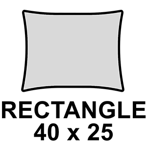 Rectangle 40 x 25