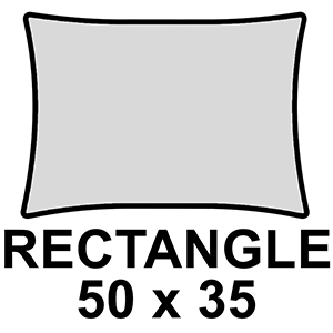 Rectangle 50 x 35