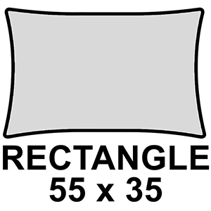 Rectangle 55 x 35